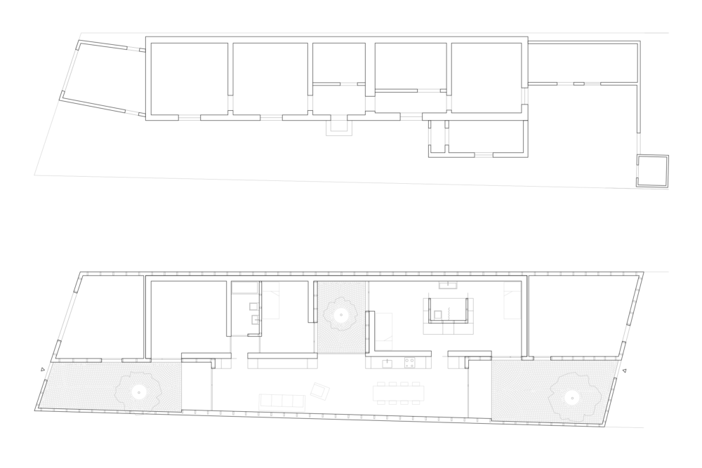 ahaa - House with Three Courtyards Galati Floorplans